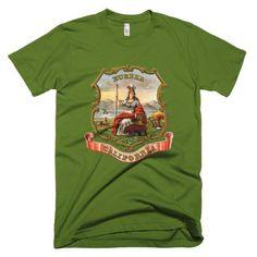 California State Coat of Arms Shirt - Men's/Unisex