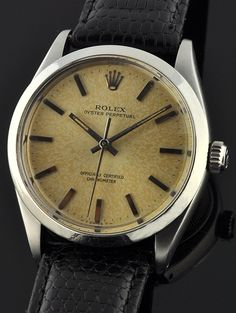 1958 Rolex Oyster Perpetual, Oysters, Omega Watch, Watches, Wristwatches, Clocks