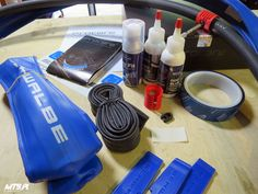 Schwalbe ProCore system - full review and more photos here: http://mtb.pl/first-look-schwalbe-procore-6215