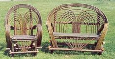 Willow or Twig porch furniture Willow or Twig porch furniture – Modern