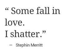 i shatter.