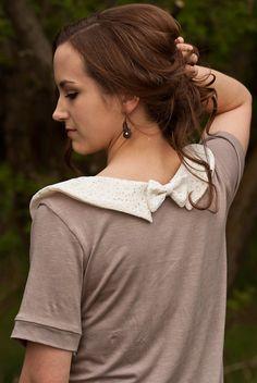 SALE! Lace Peter Pan Collar T-Shirt