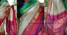 CityFashions is the one stop to Buy or Customise sarees,blouse,Designery Blouses,one gram gold,kids lehangas for more details whatsapp on 9703713779 Ikkat Pattu Sarees, Pochampally Sarees, Saree Dress, Saree Blouse, Ikkat Dresses, Designer Silk Sarees, Indian Silk Sarees, Elegant Saree, Traditional Sarees