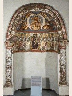 Coptic Museum in Cairo, Egypt Sacred Architecture, Church Architecture, Byzantine Icons, Byzantine Art, Monastery Icons, Carolingian, Orthodox Icons, Egyptian Art, Medieval Art