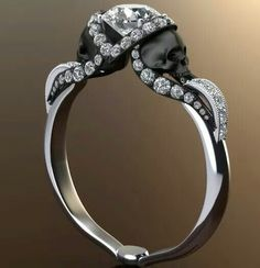 Oh, how I would love for this to be my engagement or wedding ring! The cost, however, is rather prohibitive.