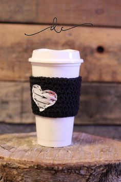 Coffee Cozy by DianaCartinian on Etsy