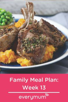 Meal planning for the family. Save money, be inspired and eat better - what's not to love! This week we have chilli, fritters, gnocchi and orzo all on the menu. Family Meal Planning, Family Meals, Rosemary Lamb Chops, Keep Recipe, Chilli Recipes, Easy Food To Make, Orzo, Budget Meals, Meals For The Week
