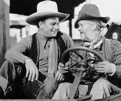 John Wayne and gabby Hayes