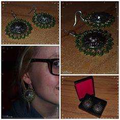 #beads #earrings #new #handmade