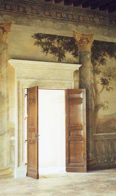 RDP -Treviso.Trompe l'oeil -with Irene Groudinsky for Roberto Peregalli studio-- rdpstudiogmail.com
