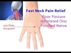 Fast Neck Pain Relief (Luo Zhen Acupoint Self-Technique) - Dr Mandell - YouTube