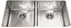 """Franke Professional Series 34-3/4"""" Undermount Stainless Steel Kitchen Sink"""