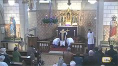 Misa tridentina en 1er Domingo de Adviento desde Canisiuskirche, Saarlou...