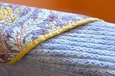 "I recently came across this beautiful blanket  and its tutorial. I thought to myself: ""I only have two part-time jobs, a baby and a home to ..."