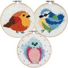 Craftways® Bird Trio Punch Needle Kit Was: $59.97    Now: $49.97
