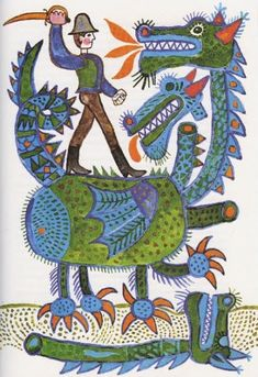 Reich Károly- this artist is one to watch! Art Brut, Arte Popular, Typography Prints, Outsider Art, Fantasy Artwork, Children's Book Illustration, Vintage Children, Children Books, Cover Art