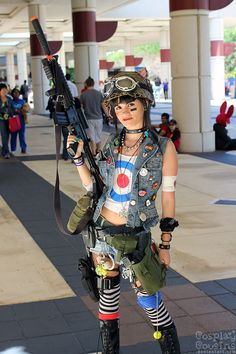 Cosplay Photo at American Cosplay Paradise. Tank Girl
