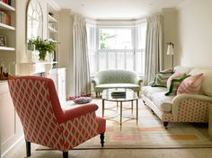 Battersea, Victorian Terraced House - traditional - living room - london - Amory Brown