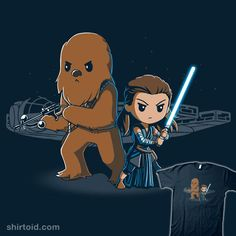 Get officially licensed Star Wars shirts featuring Princess Leia, Chewbacca, Porgs, and more! Star Wars Drawings, Cute Drawings, Rey Star Wars, Star Wars Art, Chewbacca, Star Wars Merchandise, Star Wars Images, Star War 3, Star Wars Humor