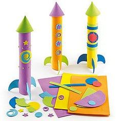 Solar System kids' Arts and Crafts which are out of this world!