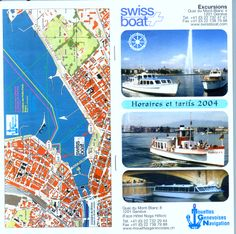 Mouettes Genevoises Navigation -  Swiss Boat on Geneva Lake