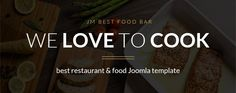 Read about flexible #solutions of JM Best Food Bar #Joomla template. Get this #template to build successful #restaurant #site!