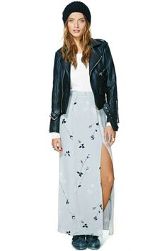 After Party Vintage Soho Nights Maxi Skirt