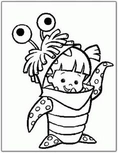 Amazing Monsters Inc Coloring Book 84 Printable colouring pages