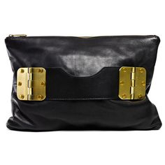 Bowdoin Clutch Black, $248, now featured on Fab.