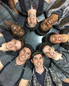 Broadway Newsies cast