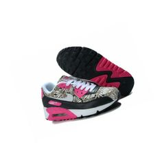 NIKE AIR MAX FLOWERS WOMEN PINK BLACK