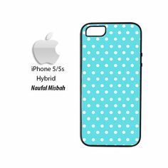 Tiffany Polka Dots Small iPhone 5/5s HYBRID Case Cover