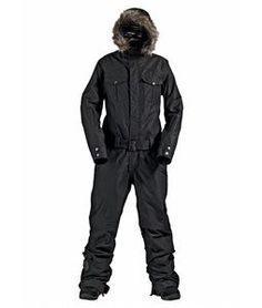 Burton Onesie! Keeps me very warm and looks great! Snowboarding.