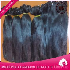 Natural Color Weft Virgin No tangle No Shed Human Hair Weave Lily Human Hair Weave, View 100 human hair, Unihair Product Details from UNISHIPPING COMMERCIAL AND SERVICE COMPANY LIMITED on Alibaba.com
