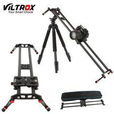 Sale Viltrox VC 80 80cm Carbon Fiber 6 Bearings DSLR Camera DV Slider Track Video Stabilizer Rail. Click visit to read descriptions
