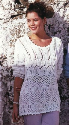 Sweater Knitting Patterns, Lace Knitting, Crochet Yarn, Knit Patterns, Knit Crochet, Jumpers For Women, Sweaters For Women, Pullover Designs, Mode Outfits