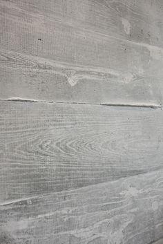 Board Formed Concrete Close Up