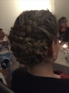 Folge mir auf Facebook unter Hairstyling Amandita Facebook, Styling Tips, Braided Hairstyle, Braid, Tutorials
