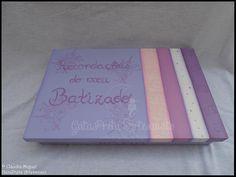 "Caixa de batizado ""Baby Lilac"""