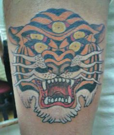 five eyed tiger tattoo - Google Search