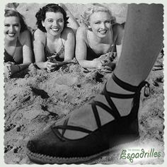 Skipper black ballerinas! at theoriginalespadrilles.com