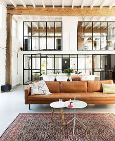 See 20 stunning spaces furnished with tan leather sofas and chairs. Get modern and vintage design ideas for living rooms and family rooms.