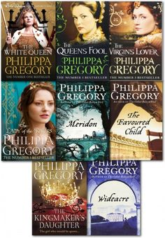 Philippa Gregory Collection of 8 Books  #TheWideacre #TheWhiteQueen…