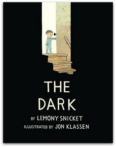 List of picture book contenders for 2014 Caldecott medal. Excerpted from The Dark by Lemony Snicket, illustrated by Jon Klassen. Copyright 2013 by Lemony Snicket and Jon Klassen. Excerpted by permission of Little, Brown Books for Young Readers. Jon Klassen, Graphic Design Magazine, Magazine Design, Design Editorial, Dark Books, Plakat Design, Lemony Snicket, Buch Design, Beautiful Book Covers