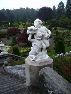 Drummond Castle Gardens - Crieff, Scotlad