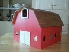 Seven Sisters: A DIY Stable for Christmas...