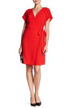 eeb638857f Bobeau Crepe Wrap Dress- would love in size medium