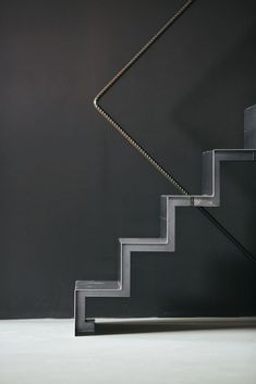 Home Stairs Design, Attic Design, Interior Stairs, House Design, Metal Stairs, Stair Handrail, House Stairs, Building Structure, Stairway To Heaven