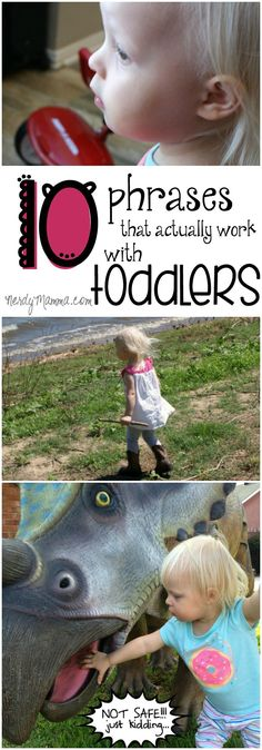 I think all toddlers are smarter than they seem. And these 10 phrases to help toddlers be understood are kind of genius. I especially like #9.