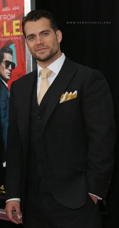 Henry Cavill at the Man from UNCLE World Premiere in New York City